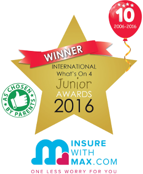 Sling Swing was a winner at the International What's On 4 Junior Awards in 2016